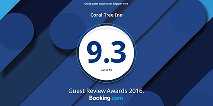 Coral Tree Inn Award